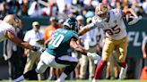 Jimmy Garoppolo, 49ers hand Eagles first loss of season, 17-11