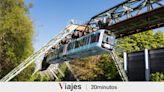 El tranvía colgante con más de 100 años de historia que es un éxito turístico en Alemania