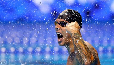Caeleb Dressel: Who is the Olympic gold-medallist swimming for Team USA?