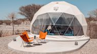 This Luxury Glamping Experience Outside of Dubai Offers Dome-Shaped Tents, Fire Pits, and