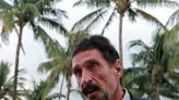 John McAfee was broke at the time of his death after spending millions on a string of luxury villas and 'bizarre properties,' biographer says