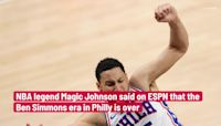 Magic Johnson says Ben Simmons is finished with the Sixers: 'He can't recover from this'