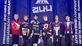 韓國男團P1Harmony第二張迷你專輯線上發佈會