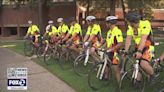 Retired Santa Clara firefighter leading group of bicyclists riding to Brooklyn for Sept. 11 anniversary