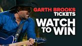 The Garth Brooks Stadium Tour Ticket Sweepstakes Official Rules