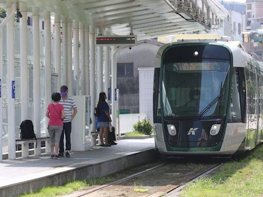 高雄輕軌C17至C20站今起7天系統測試 拚年底前通車