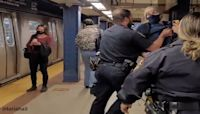 Maskless NYPD officers disciplined after subway video goes viral