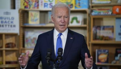 Biden says he's open to shortening length of new programs