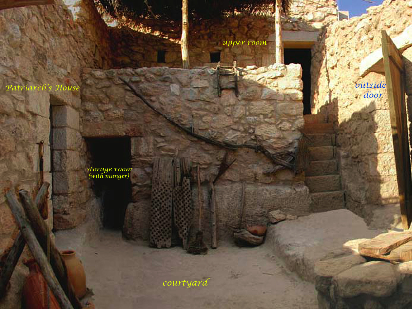 corner of Nazareth Village
