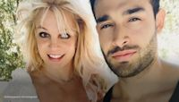Britney Spears posts pics from weekend getaway to celebrate engagement