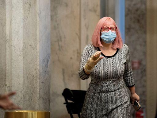 Kyrsten Sinema Says The Senate's Broken, But Don't Change The Filibuster