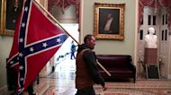 Man with Confederate flag in Capitol arrested