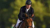 Harry Charles shines on GB Olympic debut to reach showjumping individual final