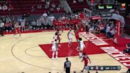 Bradley Beal with an and one vs the Houston Rockets