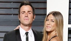 Justin Theroux & Jennifer Aniston Reunite For Thanksgiving Nearly 2 Years After Split