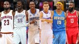 Fantasy draft featuring All-Stars from Los Angeles Lakers and Brooklyn Nets in their prime
