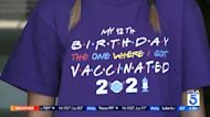 12-year-old gets COVID-19 vaccine for her birthday