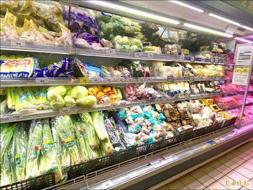 台北蔬菜批發價跌 市場、賣場零售仍貴