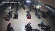 Burglars Ride Motorcycles Out of Harley-Davidson Dealership in Indiana
