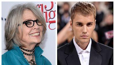 """Justin Bieber recluta a Diane Keaton para el video de su sencillo """"Ghost"""""""
