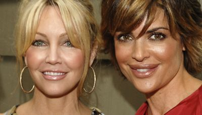 Lisa Rinna opens up about working with Heather Locklear on 'Melrose Place'