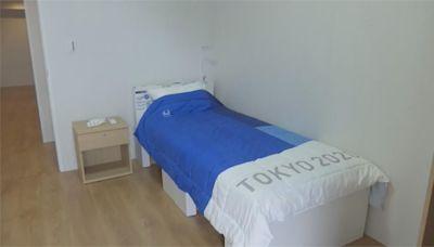 東奧「紙板床」變病床 大阪方艙醫院有床了