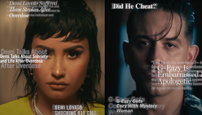 """G-Eazy and Demi Lovato Relive Headlines in Video for New Song """"Breakdown"""""""