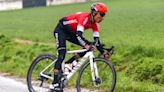 Nairo Quintana back on the bike after training crash