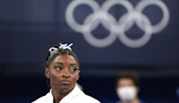 Simone Biles pulls out of individual vault and uneven bars finals