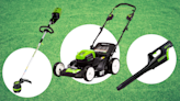 Amazon majorly slashed prices on Greenworks electric mowers and lawn care tools—for one day only