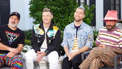 Nick Carter, Lance Bass, AJ McLean and Joey Fatone on Possible 'Back-Sync' Music (Exclusive)