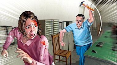 恐怖!家暴夫恐嚇割乳、鋸頭顱、碎膝蓋 妻哭求離婚法官判准   蘋果新聞網   蘋果日報