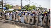 Myanmar protesters hang 'bad luck' clotheslines to keep safe