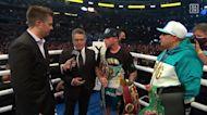 Canelo Alvarez vs. Billy Joe Saunders Post Fight Interview