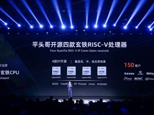 阿里巴巴推出 5nm 製程設計的「倚天710」客製化伺服器晶片、開源玄鐵 RISC-V 系列處理器 - Cool3c