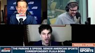 Parkins & Spiegel unveil their new American sports correspondent: Flula Borg