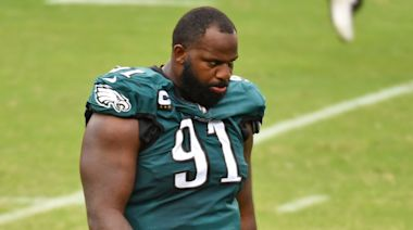 Eagles injury update: Fletcher Cox misses 2nd straight day of practice with neck injury