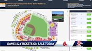 Tickets for ALCS games at Fenway go on sale Friday