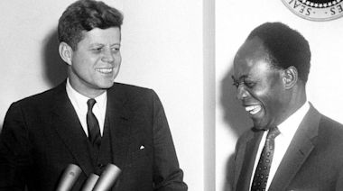 John F Kennedy: When the US president met Africa's independence heroes