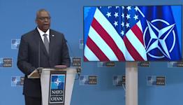 "U.S. defense secretary offers ""resolute"" commitment to NATO"