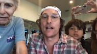 Matthew McConaughey Hosts 'Virtual Bingo' for Seniors at Texas Retirement Home