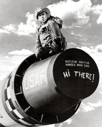 Slim Pickens Dr Strangelove Riding Bomb Of slim pickens from dr.