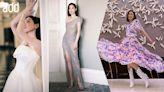 add名人時尚丨45歲佘詩曼晒腿玩透視誘惑 撞衫容祖兒贏氣質 | 蘋果日報