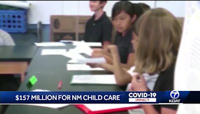 $157 million coming to New Mexico child care