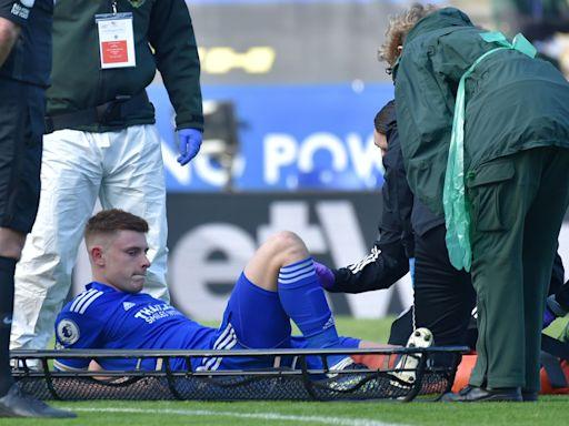 英超|李斯特城添傷兵 哈維班尼斯膝傷至少唞6周 | 蘋果日報
