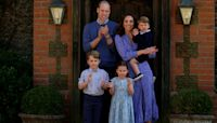 Prince George and Princess Charlotte Dressed Down for Father's Day with Prince William