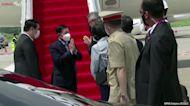 Myanmar junta leader arrives for ASEAN summit in Indonesia