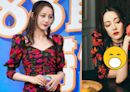 迪麗熱巴穿低胸趴桌 網見「神祕黑溝」瘋掉:攝影師不錯