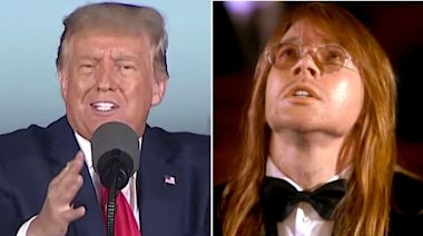 """Donald Trump Thinks Guns N' Roses' """"November Rain"""" Is the """"Greatest Music Video of All Time"""""""