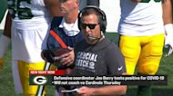 Packers DC Joe Barry tests positive for COVID-19, will miss 'TNF'